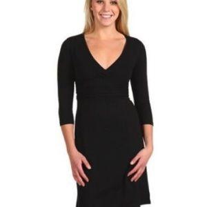 Patagonia Black Margot 3/4 Sleeve Dress S